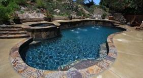 Freeform-Pool-with-Raised-Spa-1
