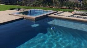 Geometric-Pool-with-Overflow-Spa